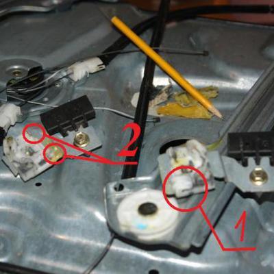 Ниссан примера р12 ремонт передней двери