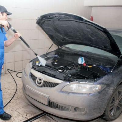 Как правильно мыть двигатель машины видео