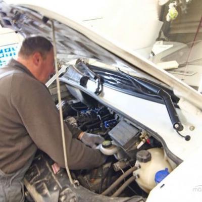 Как устранить дизеление двигателя калины