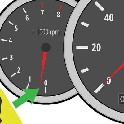 Машина на ходу сбрасывает обороты инжектор