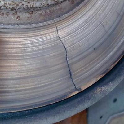 Как понять что повело тормозные диски