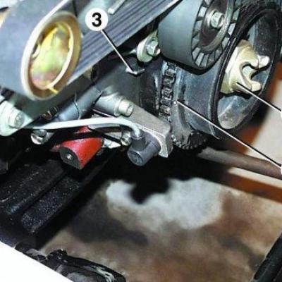 Как заменить переднюю крышку на 406 двигателе