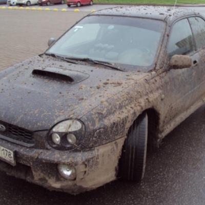Чтобы на авто не садилась пыль