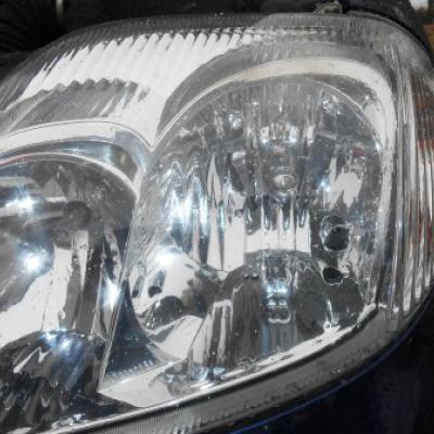 Замена лампы на тойота королла 2001г