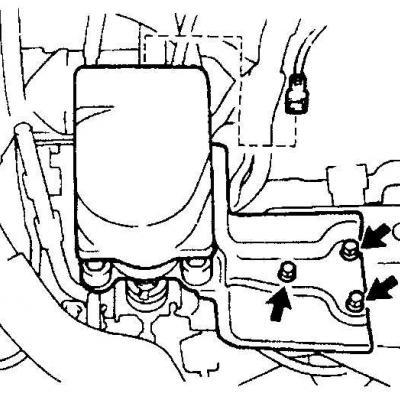 Как менять привод на тойота камри