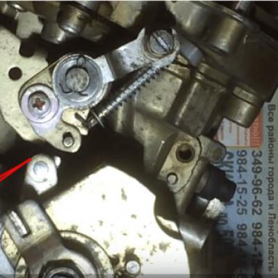 Карбюратор на 402 мотор на газ 3110
